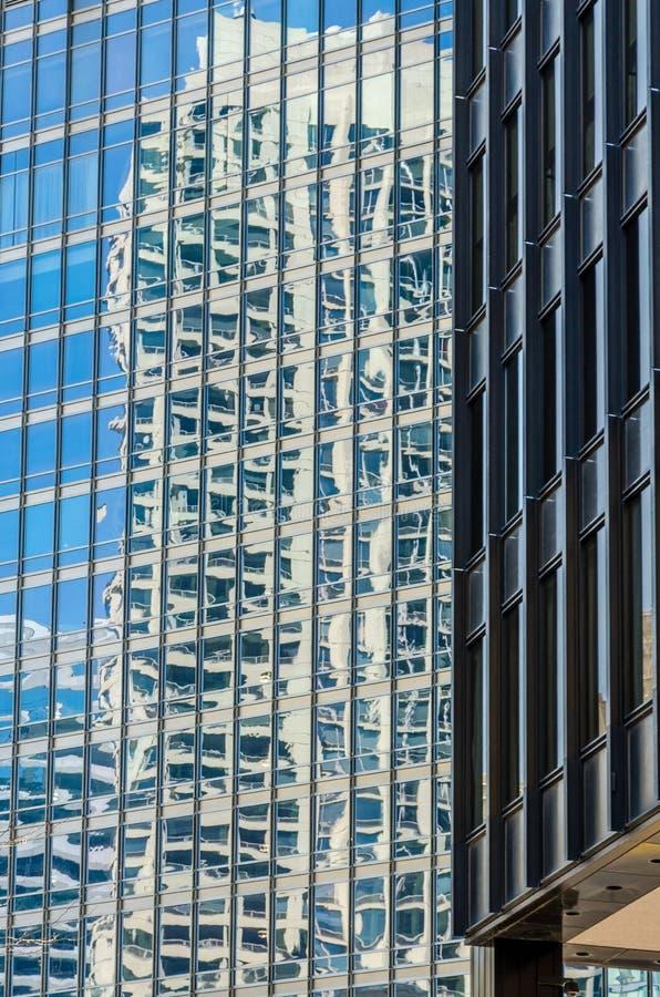 Edificios de Chicago imágenes de archivo libres de regalías