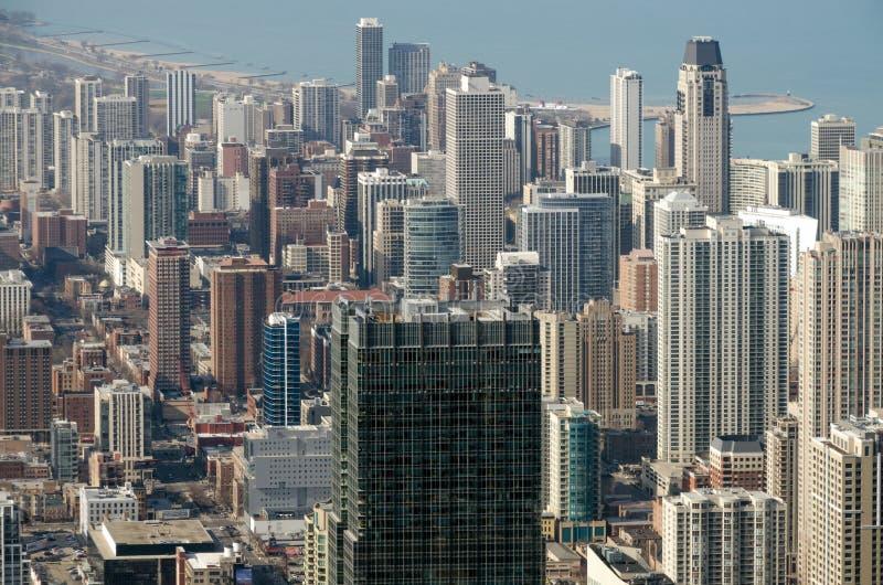 Edificios de Chicago fotografía de archivo libre de regalías