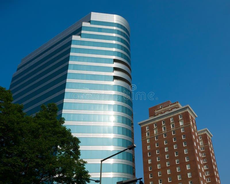 Edificios de Knoxville imagen de archivo