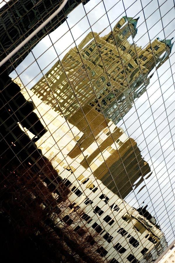 Edificios de la ciudad fotografía de archivo