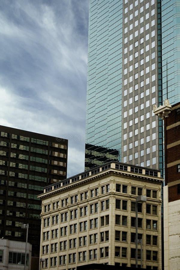 Edificios de la ciudad foto de archivo libre de regalías