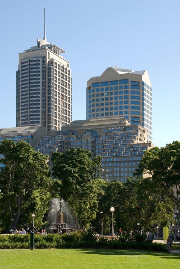 Edificios de la ciudad imagen de archivo