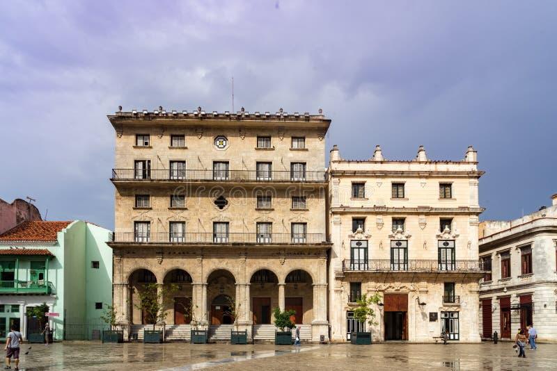Edificios de La Habana imagenes de archivo