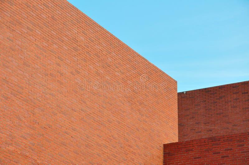 Edificios de ladrillos rojos imágenes de archivo libres de regalías