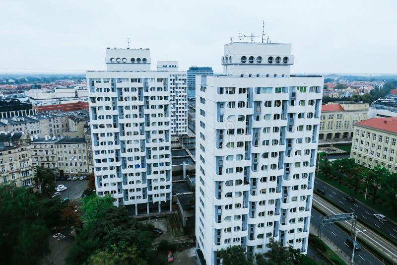 Edificios de mi opinión fotos de archivo