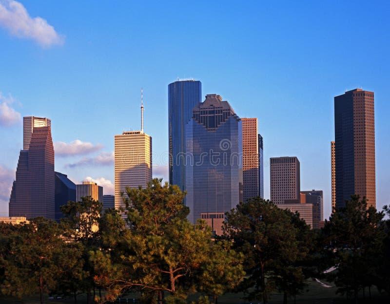 Edificios de oficinas, Houston, Tejas. foto de archivo libre de regalías