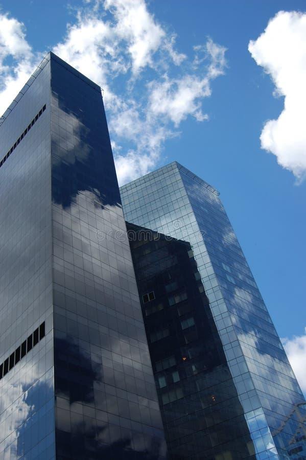Edificios de oficinas. Rascacielos. foto de archivo libre de regalías