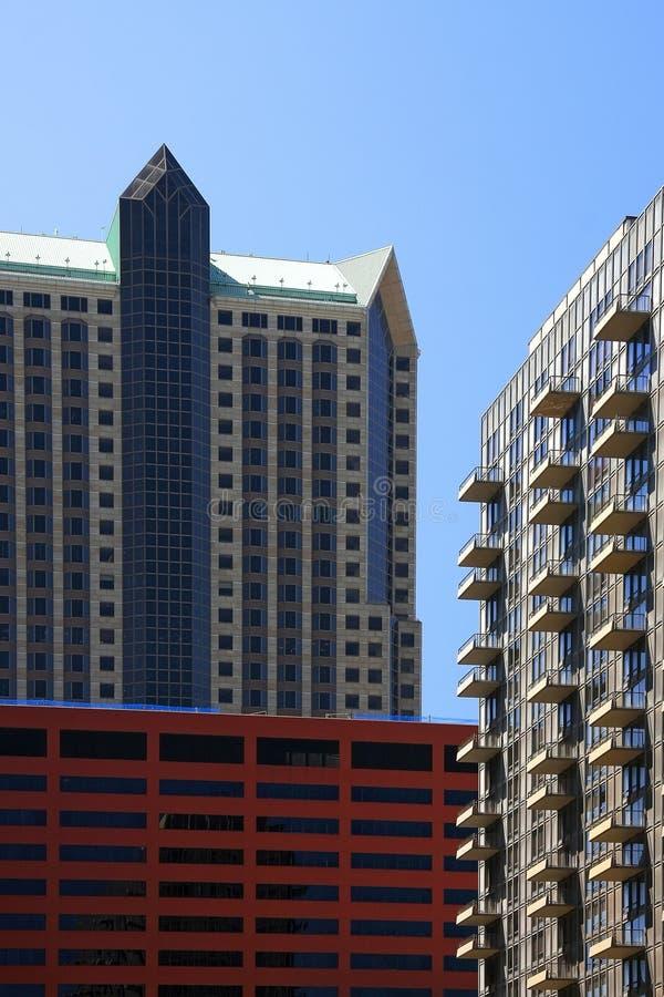 Edificios de St. Louis fotografía de archivo