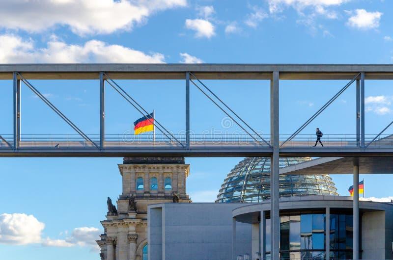 Edificios del gobierno de Berlín imagen de archivo