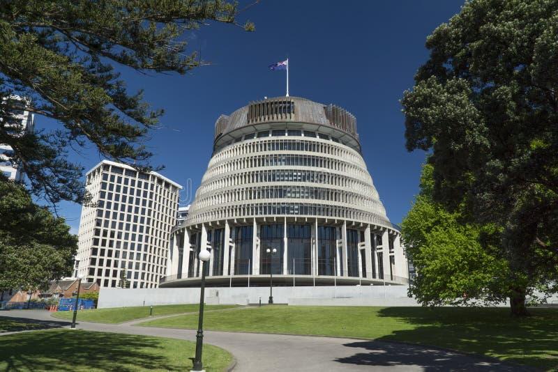 Edificios del gobierno de Nueva Zelanda foto de archivo