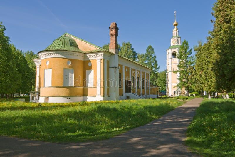 Edificios del monasterio foto de archivo