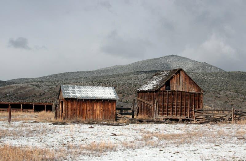 Edificios del rancho, Utah meridional, carretera 89 imágenes de archivo libres de regalías