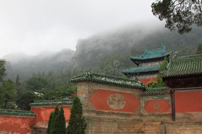 Edificios del Taoist en China imagen de archivo