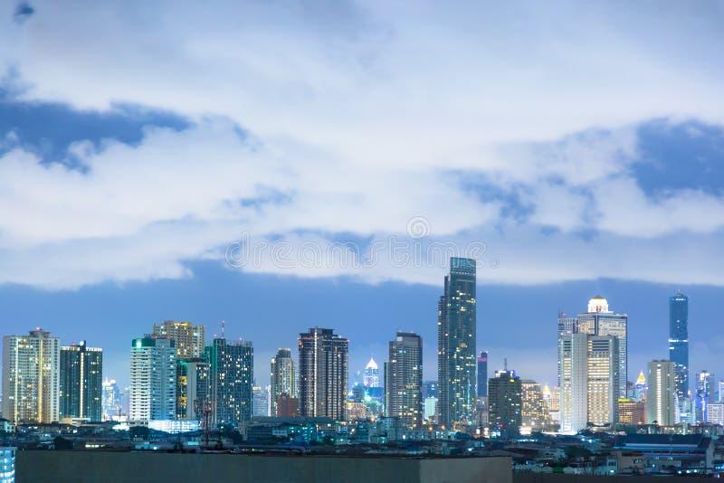 Edificios en Bangkok imagenes de archivo