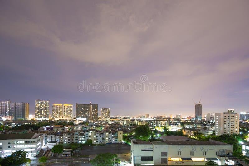 Edificios en Bangkok fotos de archivo