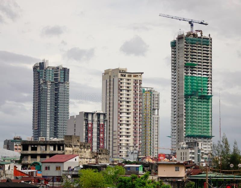 Edificios en Bangkok, Tailandia imágenes de archivo libres de regalías