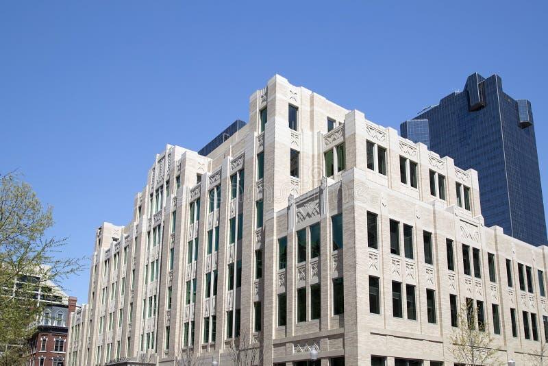 Edificios en Fort Worth céntrico fotos de archivo libres de regalías