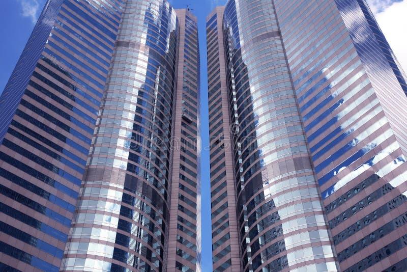 Edificios en Hong-Kong fotografía de archivo libre de regalías