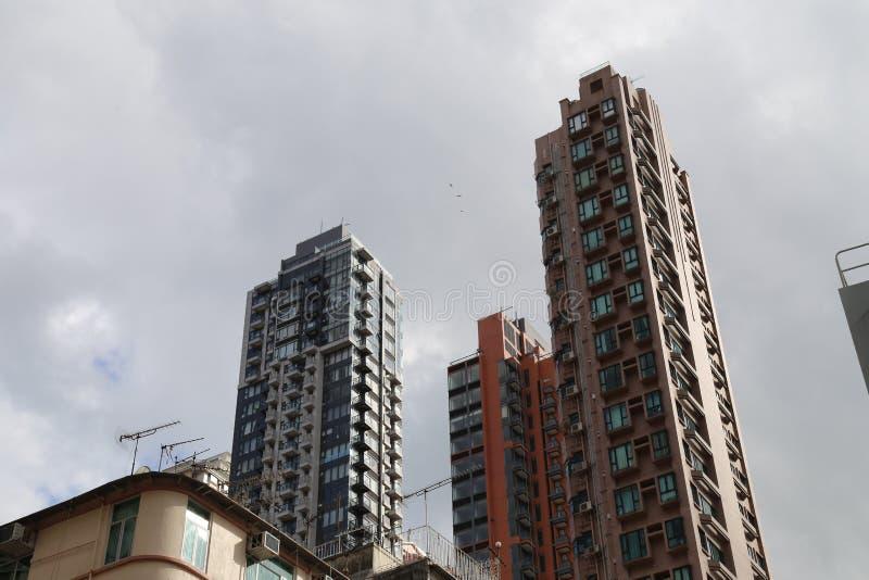 Download Edificios en Hong-Kong imagen de archivo editorial. Imagen de moderno - 42425584