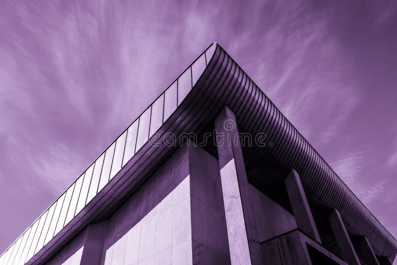 Edificios en hormigón fotos de archivo