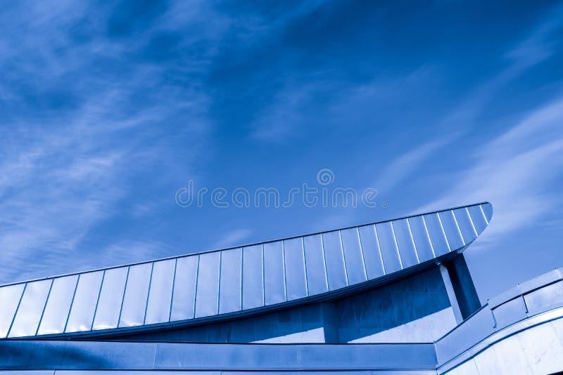 Edificios en hormigón imagen de archivo