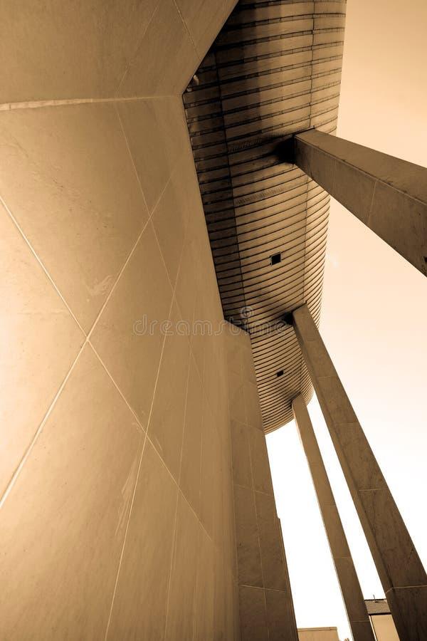 Edificios en hormigón fotografía de archivo libre de regalías