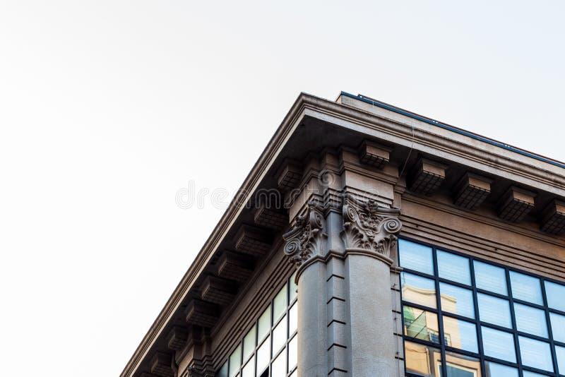 Edificios en la ciudad foto de archivo