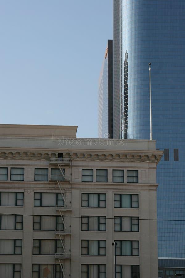 Edificios en Los Ángeles céntrico #1 fotos de archivo libres de regalías