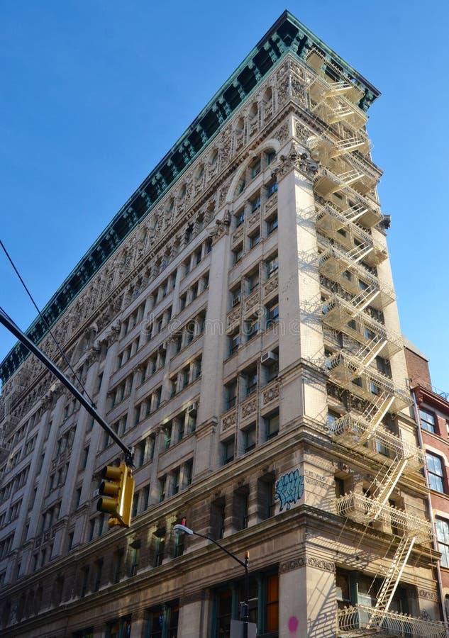 Edificios en Lower Manhattan, NYC, los E.E.U.U. imagen de archivo libre de regalías