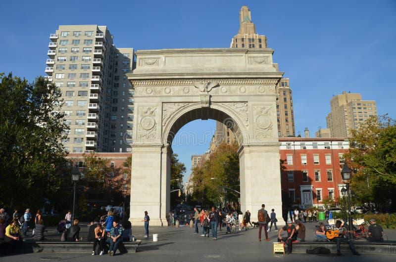 Edificios en Lower Manhattan, NYC, los E.E.U.U. foto de archivo libre de regalías