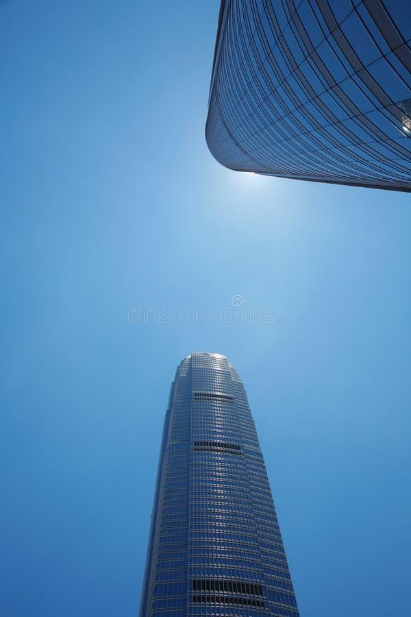 Edificios en perspectiva fotografía de archivo libre de regalías