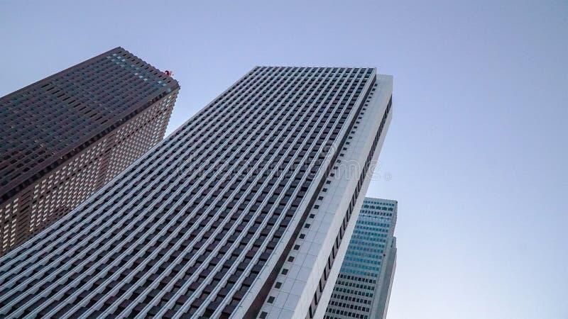 Edificios en Shinjuku fotografía de archivo libre de regalías