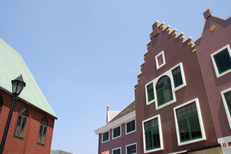 Edificios europeos en Nagasaki imagen de archivo