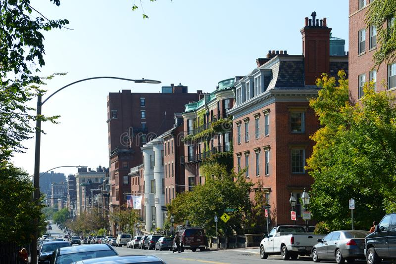 Edificios históricos de Boston, Massachusetts, los E.E.U.U. imagen de archivo libre de regalías