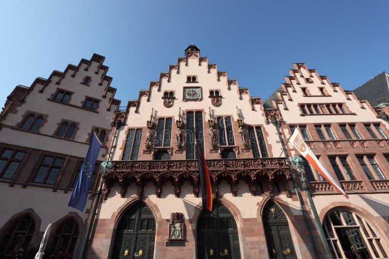 Edificios históricos en Francfort imagen de archivo libre de regalías