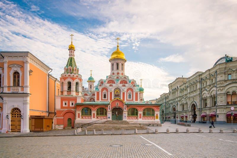 Edificios históricos en la Plaza Roja en Moscú fotografía de archivo libre de regalías