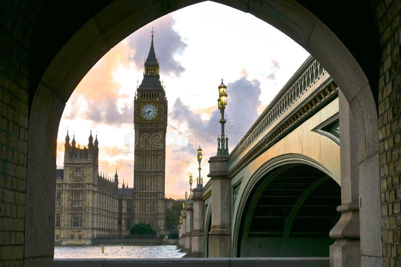 Edificios históricos en Londres imagen de archivo libre de regalías