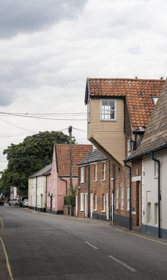 Edificios históricos en Southwold, Suffolk foto de archivo libre de regalías