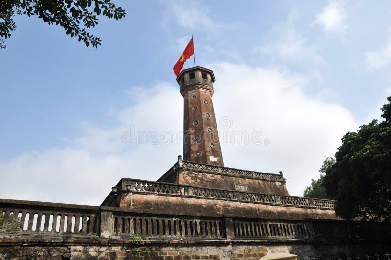 Edificios históricos en Vietnam foto de archivo libre de regalías