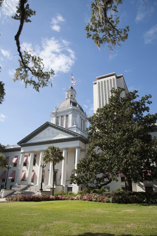 Edificios la Florida los E.E.U.U. del capitolio del estado de Tallahassee fotos de archivo