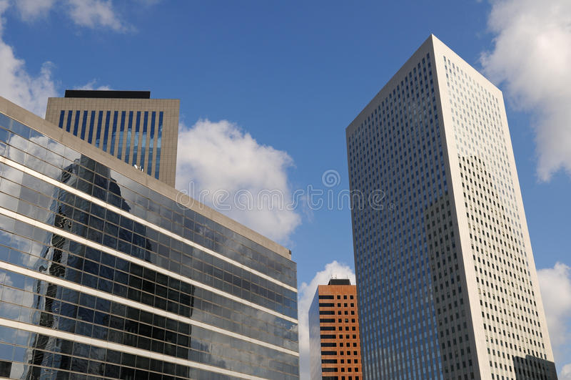 Edificios modernos 1 foto de archivo libre de regalías