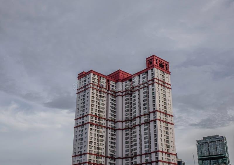 Edificios modernos en Bangkok, Tailandia imagen de archivo
