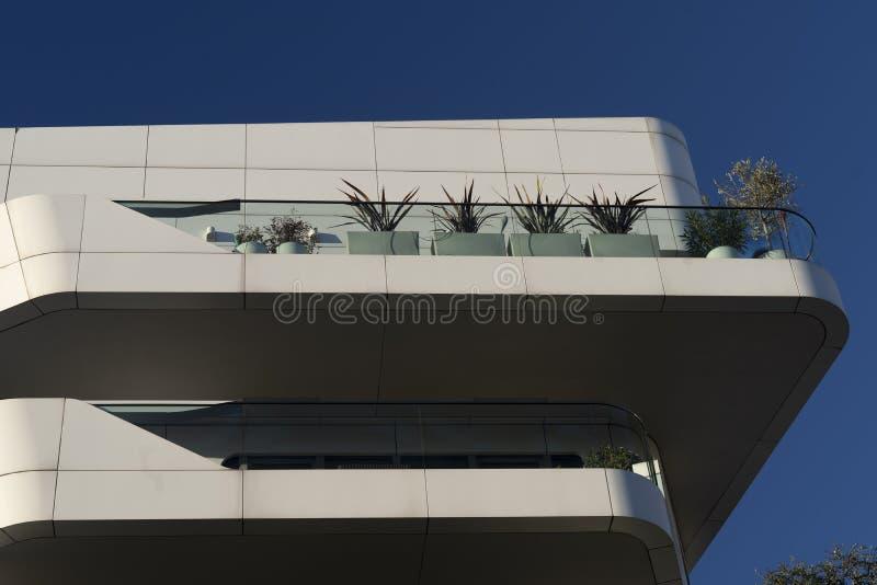Edificios modernos en Citylife, Milán fotos de archivo libres de regalías