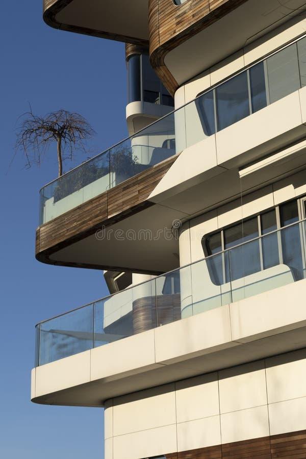 Edificios modernos en Citylife, Milán fotografía de archivo libre de regalías