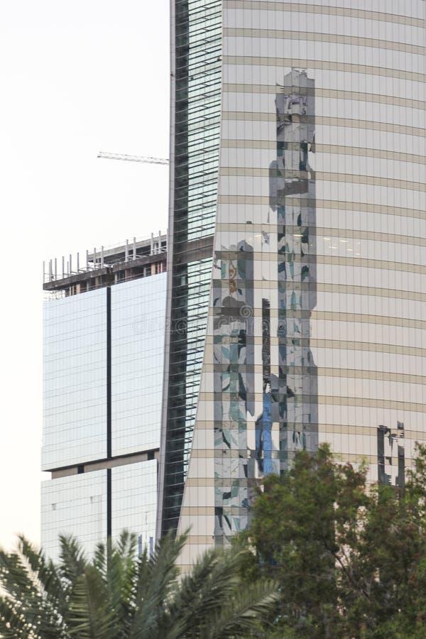 edificios modernos en Doha, Qatar fotografía de archivo libre de regalías