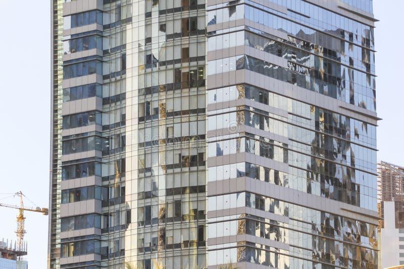 edificios modernos en Doha, Qatar foto de archivo