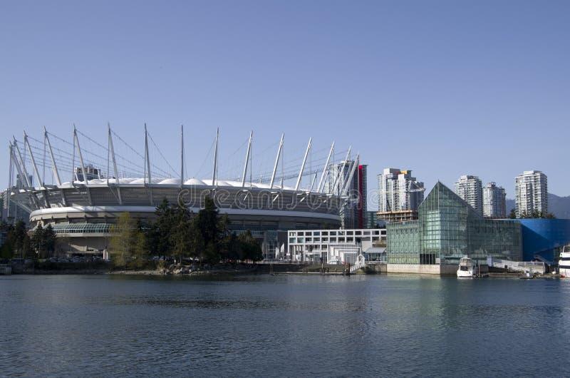 Edificios modernos Vancouver imágenes de archivo libres de regalías