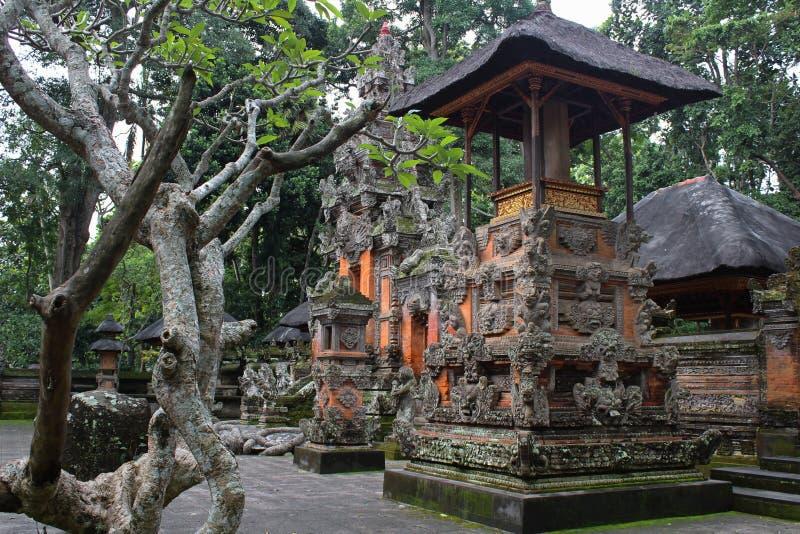 Edificios, parques y el viajar de Bali imágenes de archivo libres de regalías