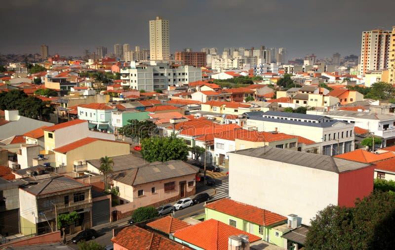 Edificios residenciales y hogares foto de archivo libre de regalías