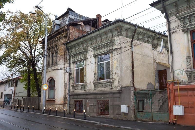 Edificios viejos imágenes de archivo libres de regalías